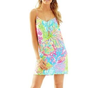 Lilly Pulitzer Lovers Coral Dusk Dress NWT XS